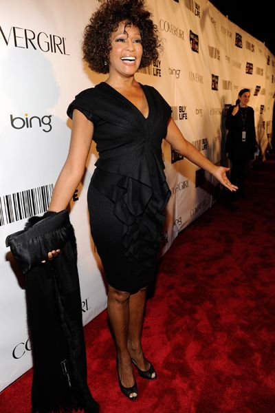 Whitney Houston - Pop Diva - Dead - Whitney Houston at Keep A Child Alive's 7th annual Black Ball at Hammerstein in New York City in 2010