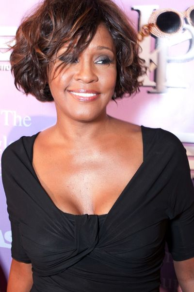 Whitney Houston - Pop Diva - Dead - Whitney Houston at the Kelly Price & Friends Unplugged: For the Love of R&B Grammy Party in Hollywood on February 9, 2012