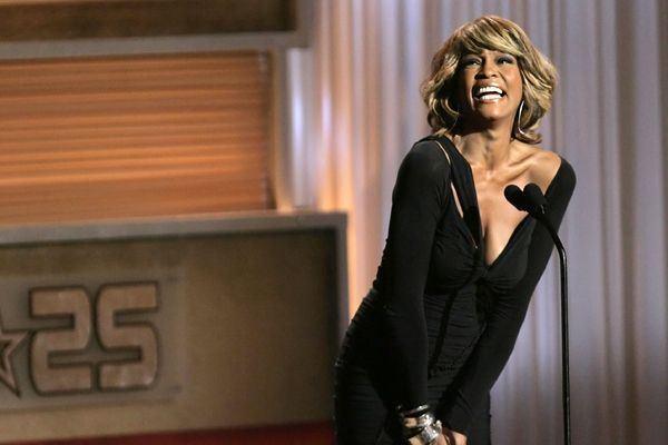 Whitney Houston - Pop Diva - Dead - Whitney Houston at the The BET Silver Anniversary Celebration in Los Angeles in 2005