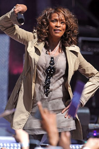 Whitney Houston - Pop Diva - Dead - Whitney Houston on ABC's 
