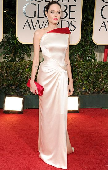 Golden Globe 2012 | Red Carpet Highlights - Angelina Jolie