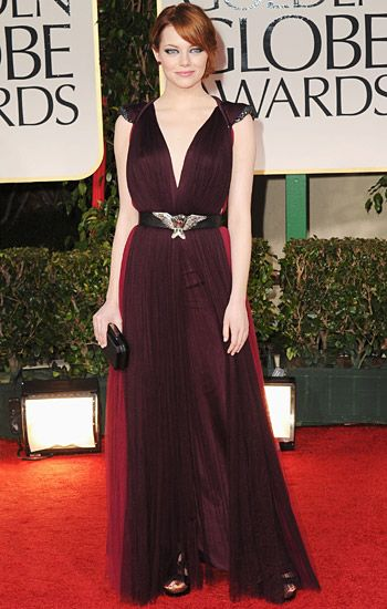 Golden Globe 2012 | Red Carpet Highlights - Emma Stone
