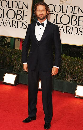 Golden Globe 2012 | Red Carpet Highlights - Gerard Butler