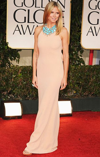 Golden Globe 2012 | Red Carpet Highlights - Heidi Klum