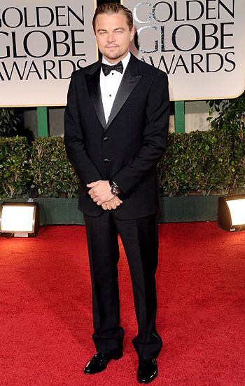 Golden Globe 2012 | Red Carpet Highlights - Leo Dicaprio