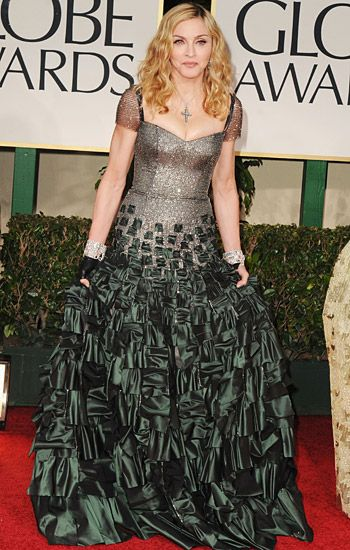 Golden Globe 2012 | Red Carpet Highlights - Madonna