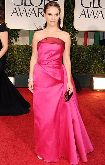 Golden Globe 2012 | Red Carpet Highlights - Natalie Portman