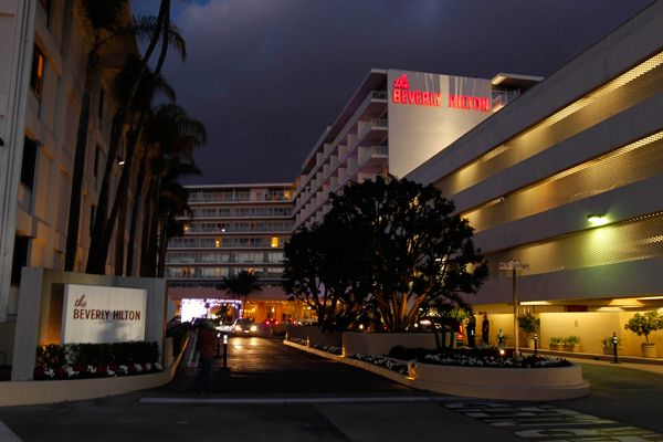 Whitney Houston - Pop Diva - Dead - The Beverly Hilton on the night that Whitney Houston died