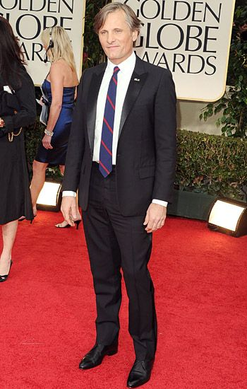 Golden Globe 2012 | Red Carpet Highlights - Viggo Mortensen