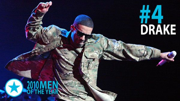 Men & Women of 2010 - Man of the Year #4: Drake. Although his So Far Gone mixtape made the Canadian MC one of the hottest rappers in the game, it was his first official release, 2010's Thank Me Later, which catapulted Drake into mainstream mega-stardom, debuting at #1 on the Billboard albums chart.