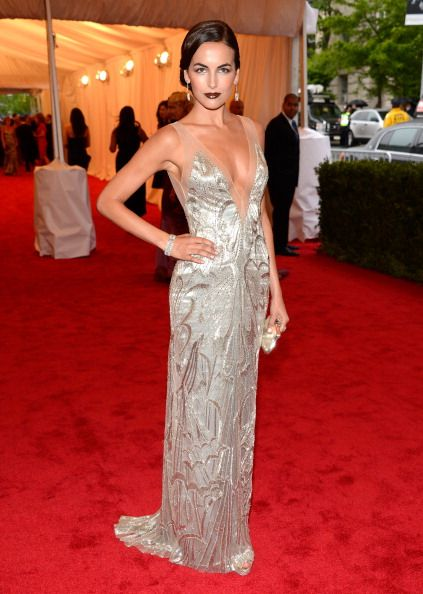 Celebrity Fashion Police at 2012 Met Gala - Camille Belle has the look that could melt an army of men ... yes...please!