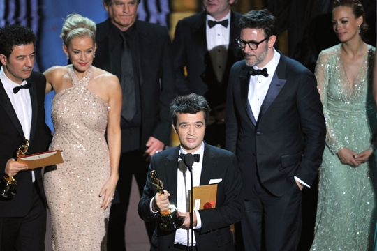 2012 Oscar Highlights - The Artist wins for Best Picture