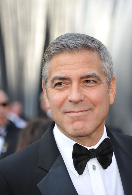 2012 Oscar Highlights - George Clooney who starred in The Descendants