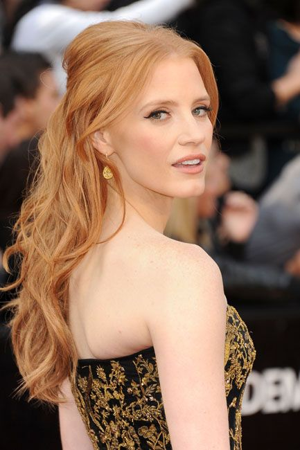 2012 Oscar Highlights - Jessica Chastain from The Help
