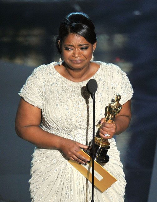 2012 Oscar Highlights - Octavia Spencer wins for Best Supporting Actress - The Help