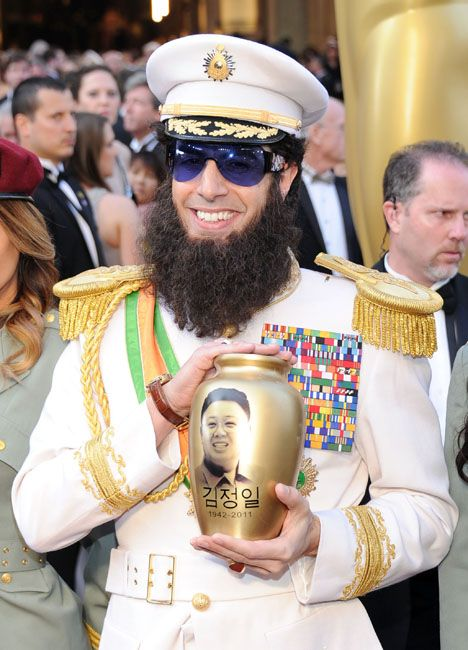 2012 Oscar Highlights - Sacha Baron Cohen - The Dictator