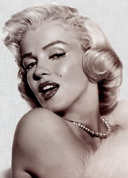 Beauty Gone Too Soon - Marilyn Monroe died at the age of 36 on August 5th, 1962.