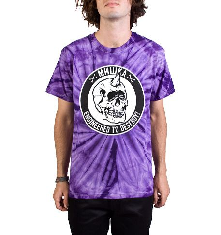 Top 25 Tees - Hot Looks! - Mishka may finally make wearing tie-die Tees reasonable without attracting the wrong kind of attention