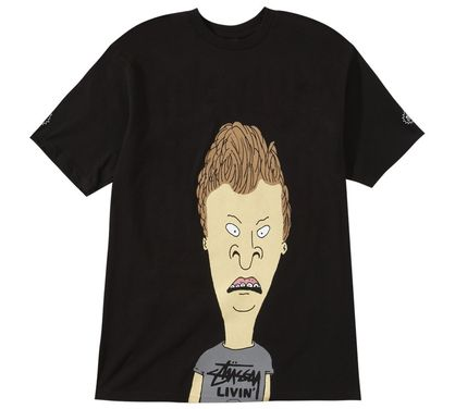 Top 25 Tees - Hot Looks! - Stussy obviously believes that Beavis and Butthead have returned to cool