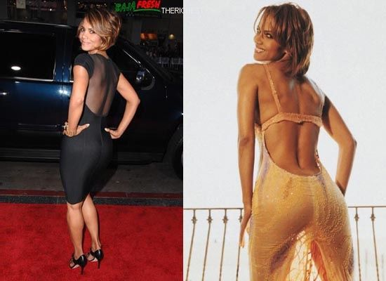 Biggest Celebrity Bootilicious Butts In Hollywood - Halle Berry known for being rather petite will always surprise you when she gives you a little backside.
