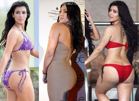 Biggest Celebrity Bootilicious Butts In Hollywood - Kim Kardashian is ...