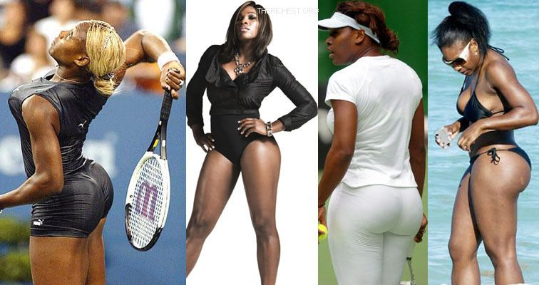 Biggest Celebrity Bootilicious Butts In Hollywood - Serena Williams is famous for her tennis game but throw away the racket and the world might all be staring at her butt!