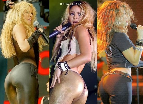 Biggest Celebrity Bootilicious Butts In Hollywood - Shakira - it's hard to imagine with all her hip shaking moves that her butt doesn't recognize the diet. Voted several times for Best Butt Shakira has what it takes.