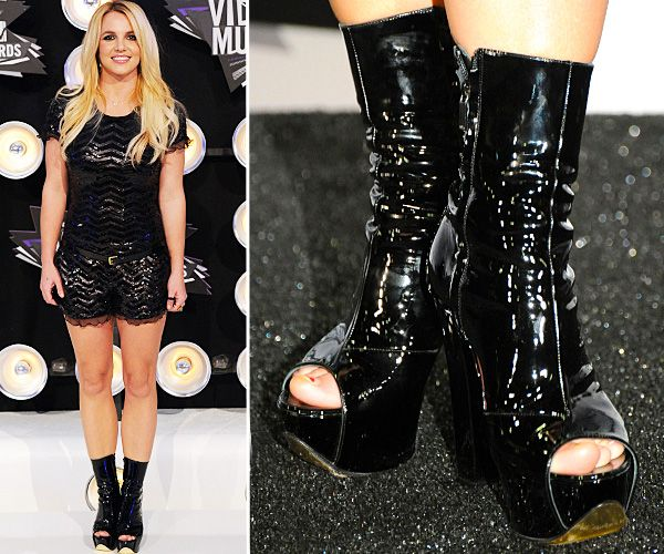 Top Celebrity Footwear - Britney Spears