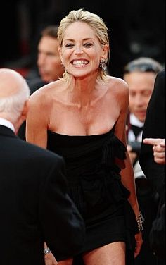 Celebs Gone Derp - Sharon Stone