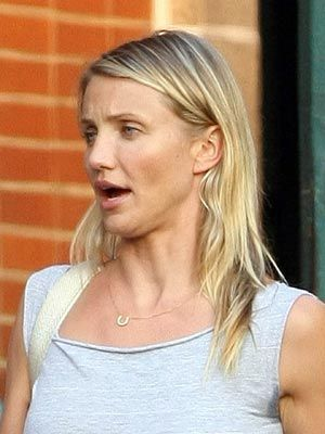 Celebs With No Make-up - Cameron Diaz