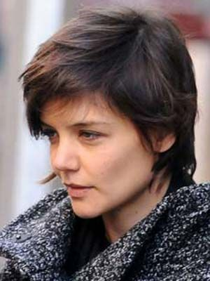 Celebs With No Make-up - Katie Holmes
