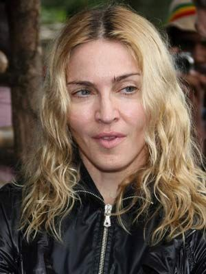 Celebs With No Make-up - Madonna