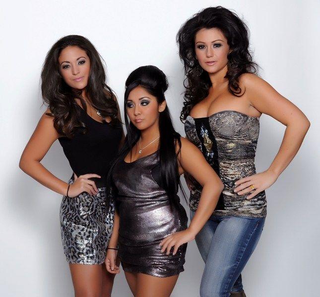 Jersey Shore Gals | In The Beginning... - Sammi Giancola, Nicole Polizzi - Snooki , Jenni Farley