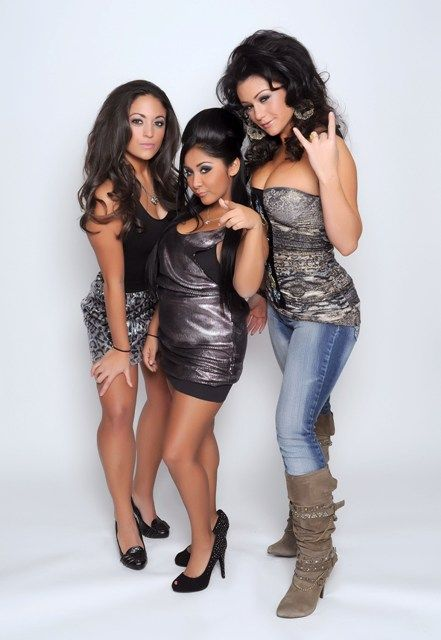 Jersey Shore Gals | In The Beginning... - Sammi Giancola, Nicole Polizzi, Jenni Farley