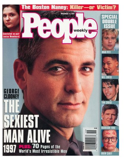 Happy 51st Birthday George - People Magazine's Sexiest Man Alive (1997)