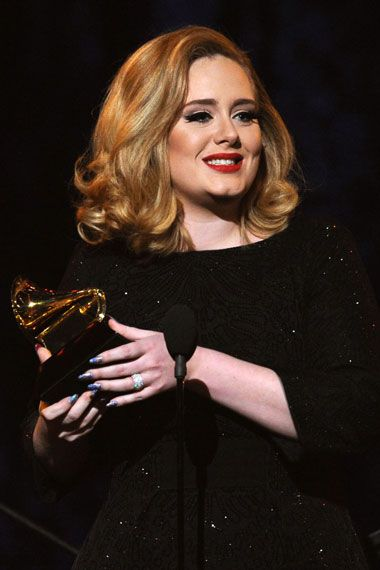 2012 Grammy Award Highlights - Adele wins six awards in total at the 2012 Grammy Awards