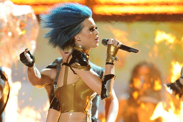 2012 Grammy Award Highlights - Katy Perry performs