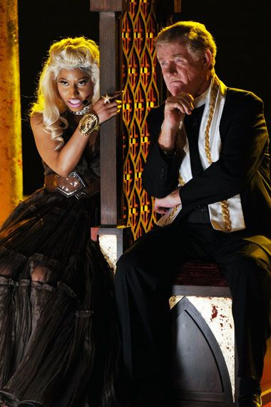 2012 Grammy Award Highlights - Nicki Minaj confesses her sins in her performance of