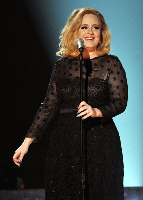 2012 Grammy Awards Performances - Adele singing