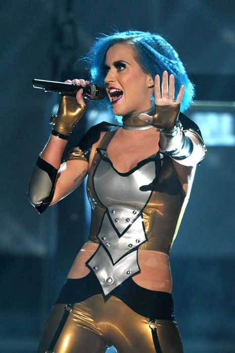2012 Grammy Awards Performances - Katy Perry at the 2012 Grammy Awards.
