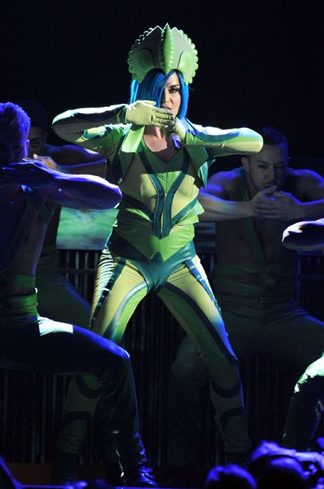 2012 Grammy Awards Performances - Katy Perry performes at the 2012 Grammy Awards.