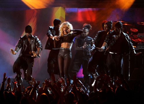 2012 Grammy Awards Performances - Nicki Minaj performing