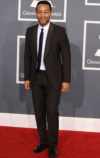 2012 Grammy Awards Red Carpet - John Legend on the Red Carpet at the 2012 Grammy Awards.