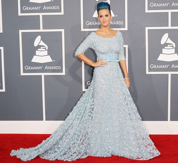 2012 Grammy Awards Red Carpet - Katy Perry on the Red Carpet at the 2012 Grammy Awards.