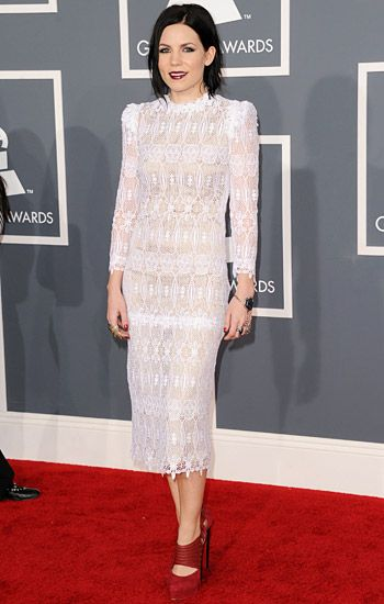 2012 Grammy Awards Red Carpet - Skylar Grey on the Red Carpet at the 2012 Grammy Awards.