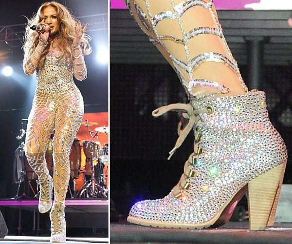 Top Celebrity Footwear - JLO