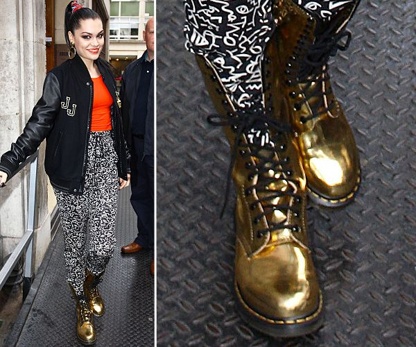 Top Celebrity Footwear - Jessie J