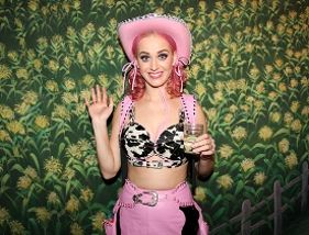 Katy Perry's 'Wild West Ho Down Throwdown' Bday Shindig