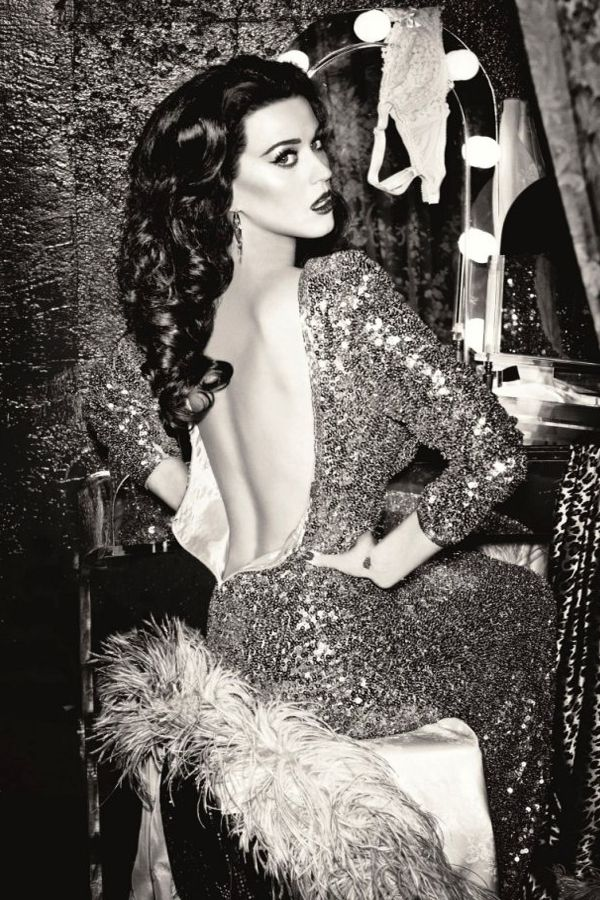 Katy Perry Is Timeless - Katy Perry in old Hollywood glam style