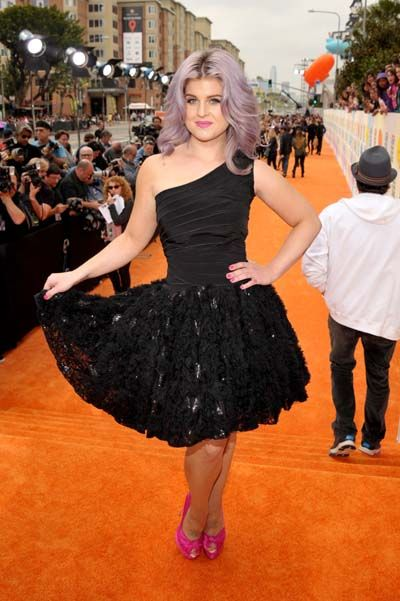 Kid's Choice Awards 2012 - Celebrity Moments - Kelly Osbourne
